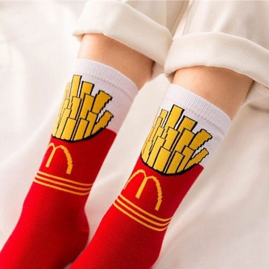 mcdonalds fries socks