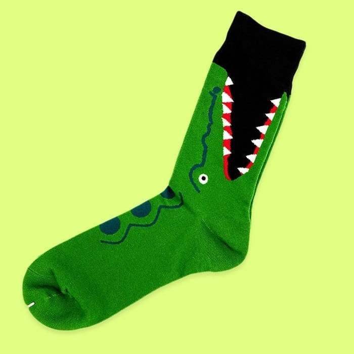 crocodile socks single