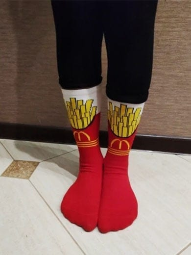 review of mcdonalds socks