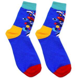Abstract Socks Zoomed