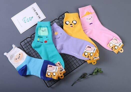 Adventure Time Socks - Kumplo