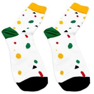 Geometric Socks Details