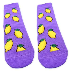 Lemon Socks Details