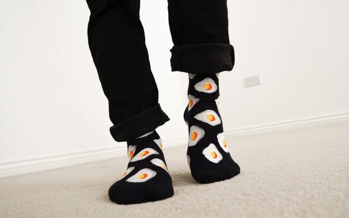 eggs socks