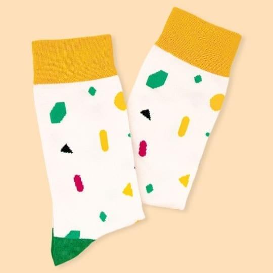 geometric socks from kumplo
