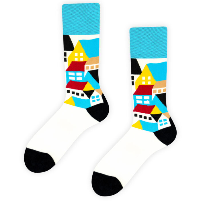 home socks colourful