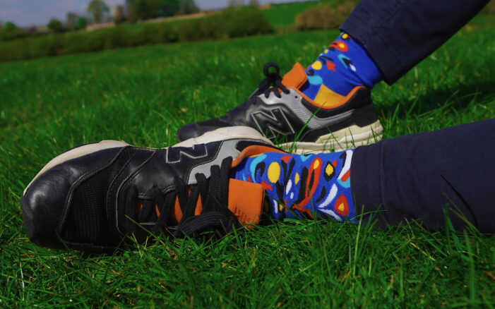 kumplo abstract socks