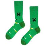minecraft socks creeper