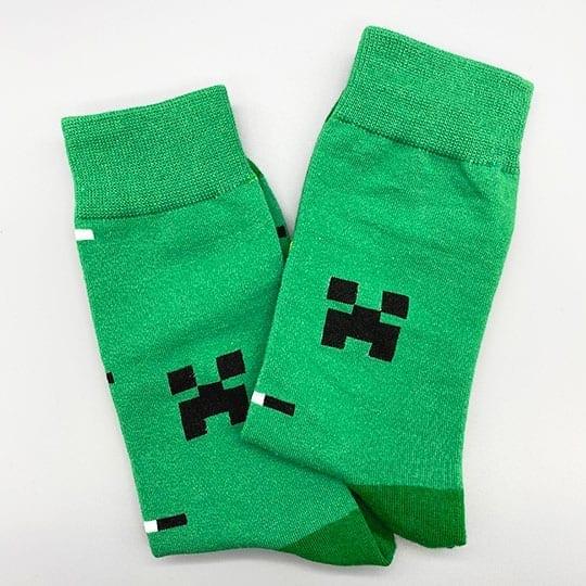 minecraft socks zoomed