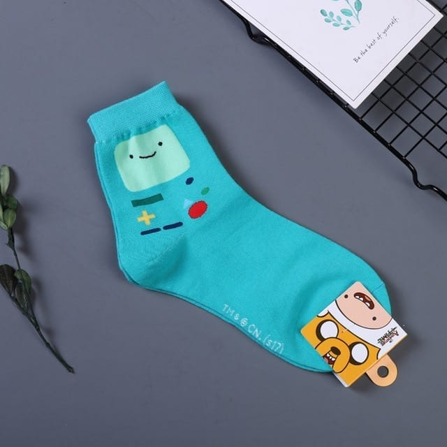 Adventure Time Socks - Beemo