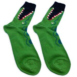 crocodile socks details