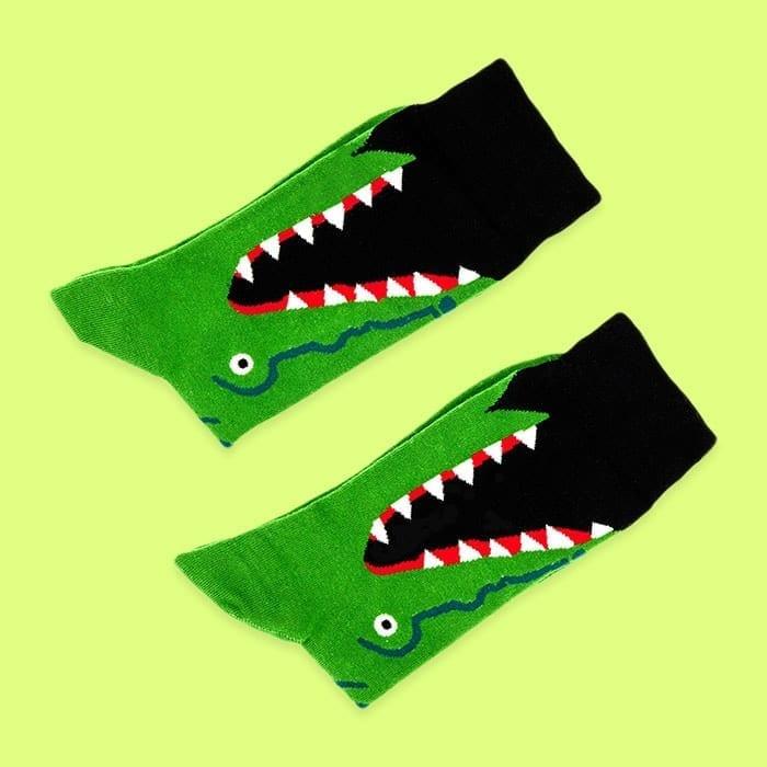 kumplo crocodile socks