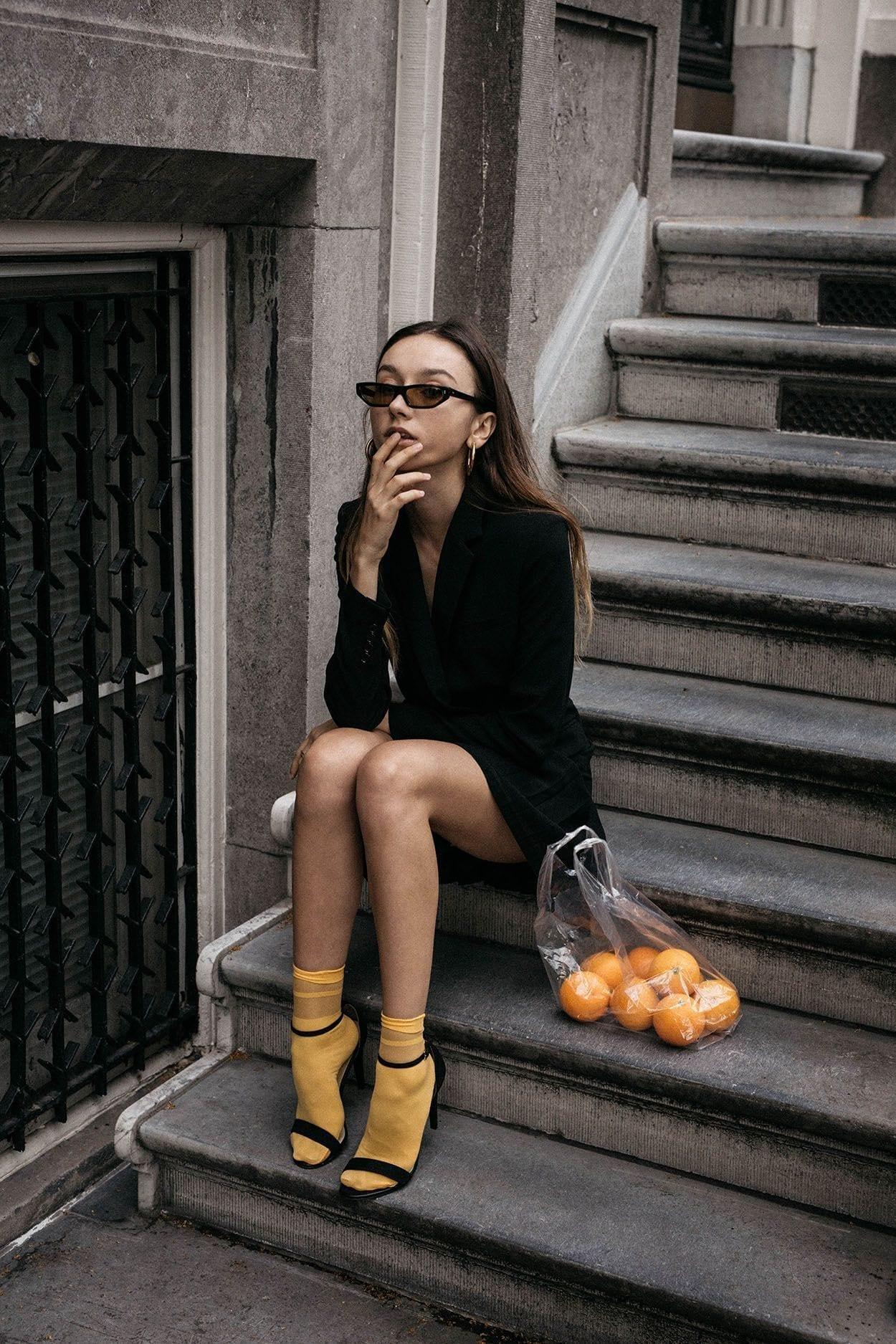 socks outfit ideas