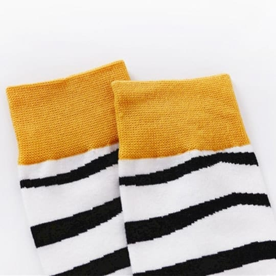 zebra socks top