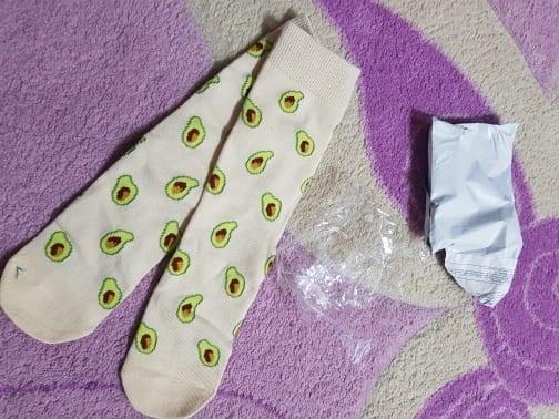 Jade's review avocado socks