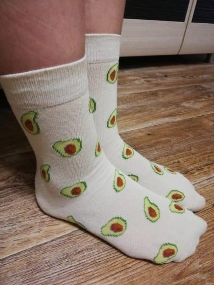 Robert's review avocado socks