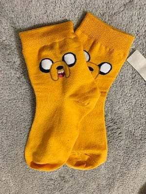 adventure time jake socks review