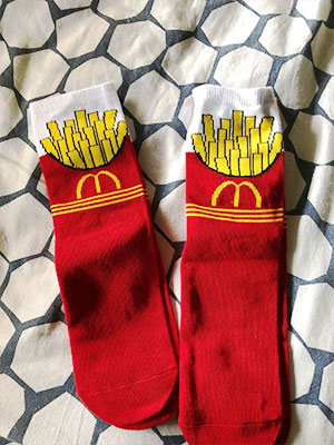 mcd socks