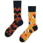 Apple Hedgehog Socks