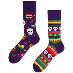Mexican-Skull-Socks