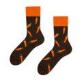 carrot socks brown