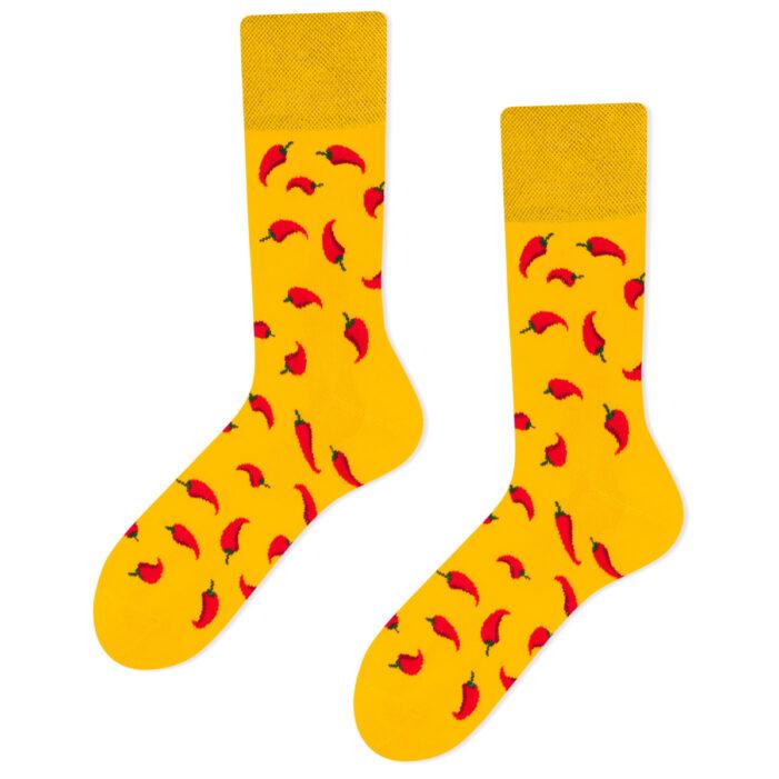 chilli pepper socks