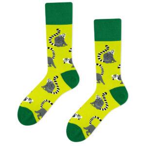 lemur socks green