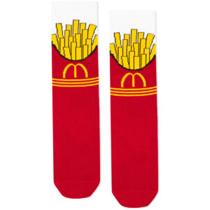 mcdonalds socks fries
