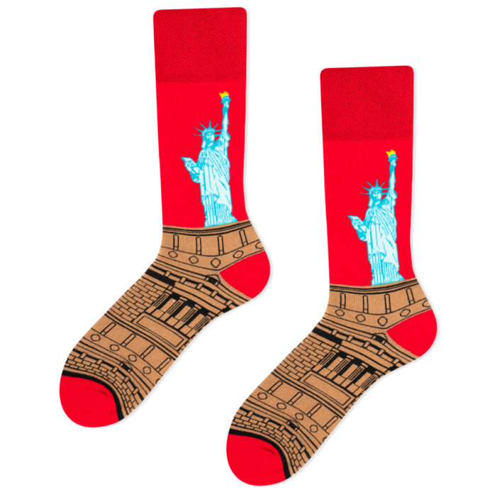 statue of liberty socks
