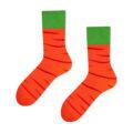carrot socks orange