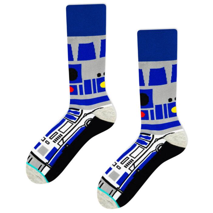 star wars droid r2d2 socks