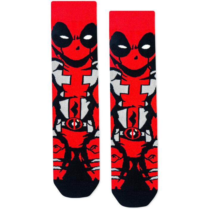deadpool marvel socks