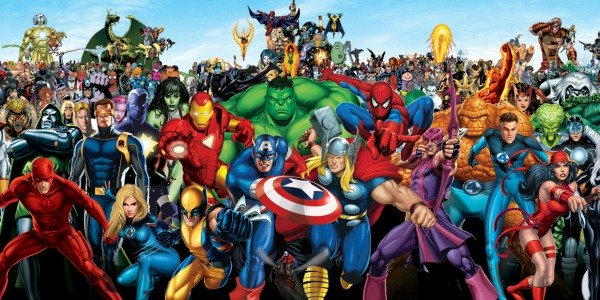 marvel characters list