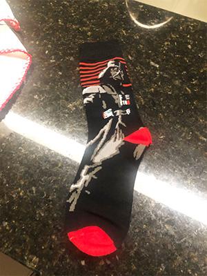 star wars socks men's